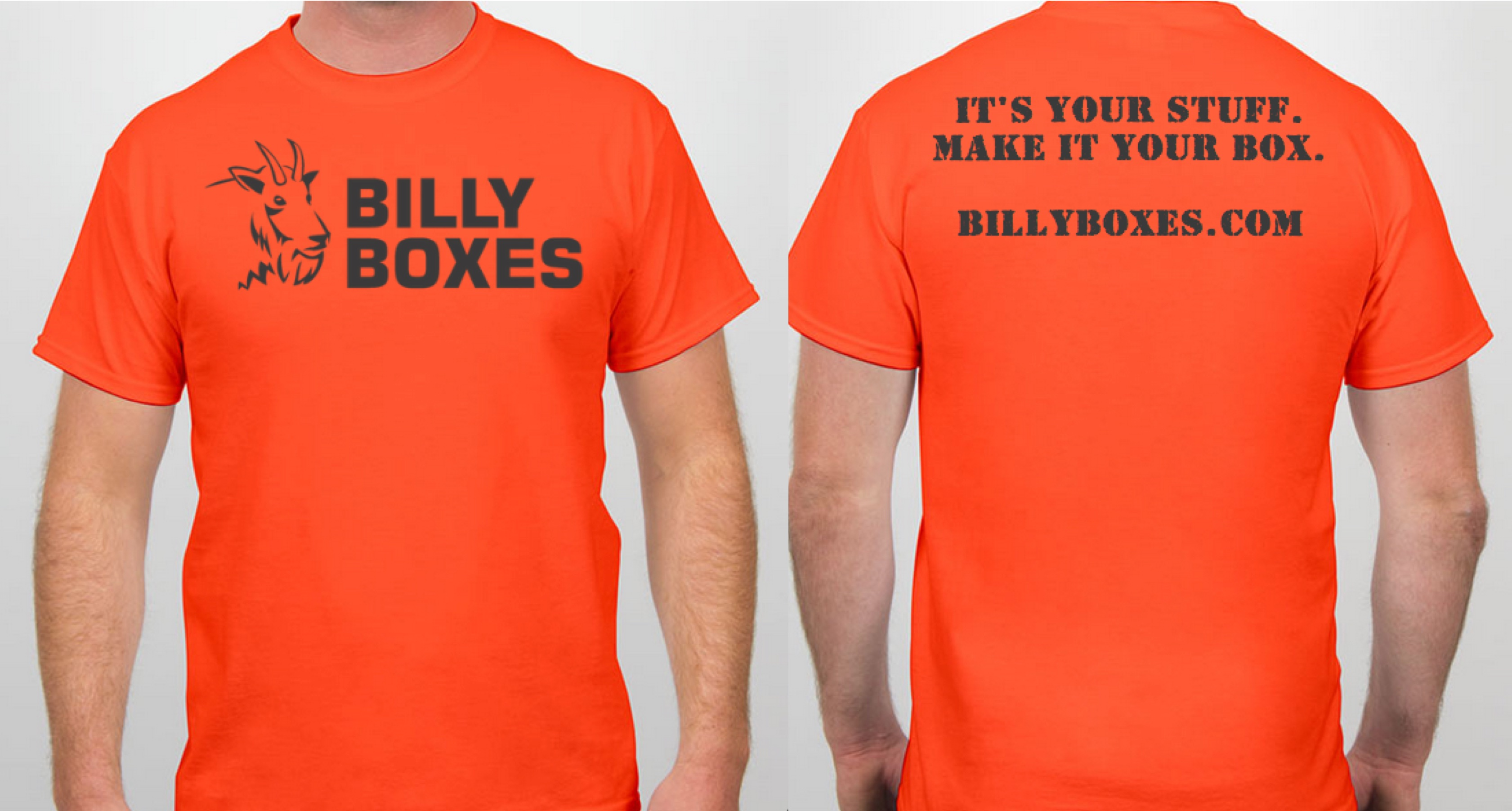 T-Shirt Orange | Billy Boxes